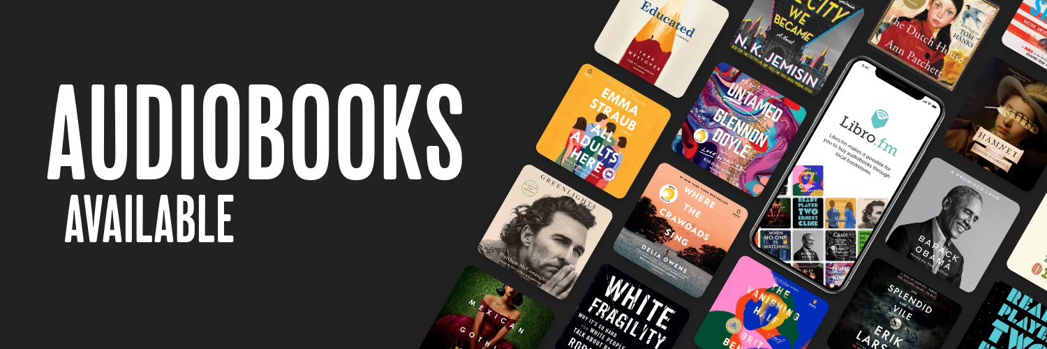 Audiobooks available
