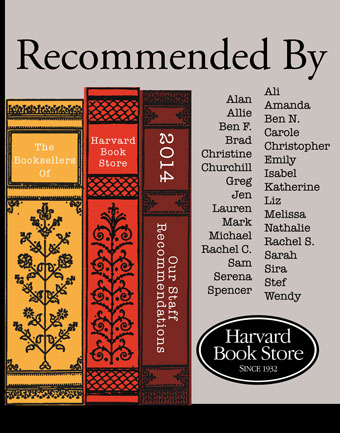 Recommended by Harvard Book Store 2014