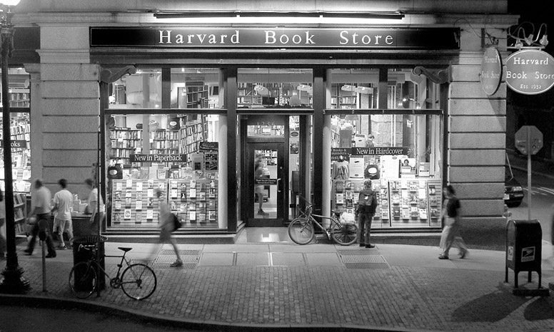 History - About - Harvard Book Store