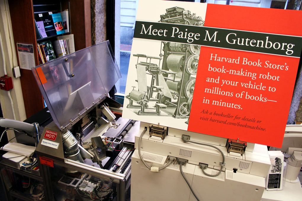 in store book printing: custom printing - clubs & services - harvard ...