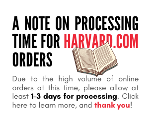 A Note on Processing Time for HARVARD.COM Orders