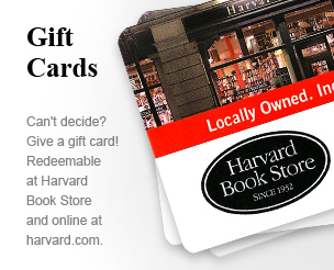 Gift Cards: Redeemable at Harvard Book Store and online at harvard.com.