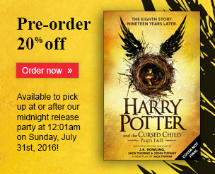Pre-order Harry Potter and the Cursed Child