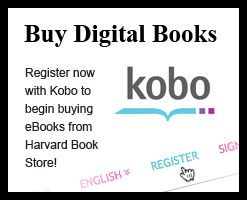 Buy Digital Books: Register now with Kobo to begin buying eBooks from Harvard Book Store!