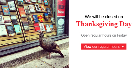 We will be closed on Thanksgiving Day. View our regular hours: