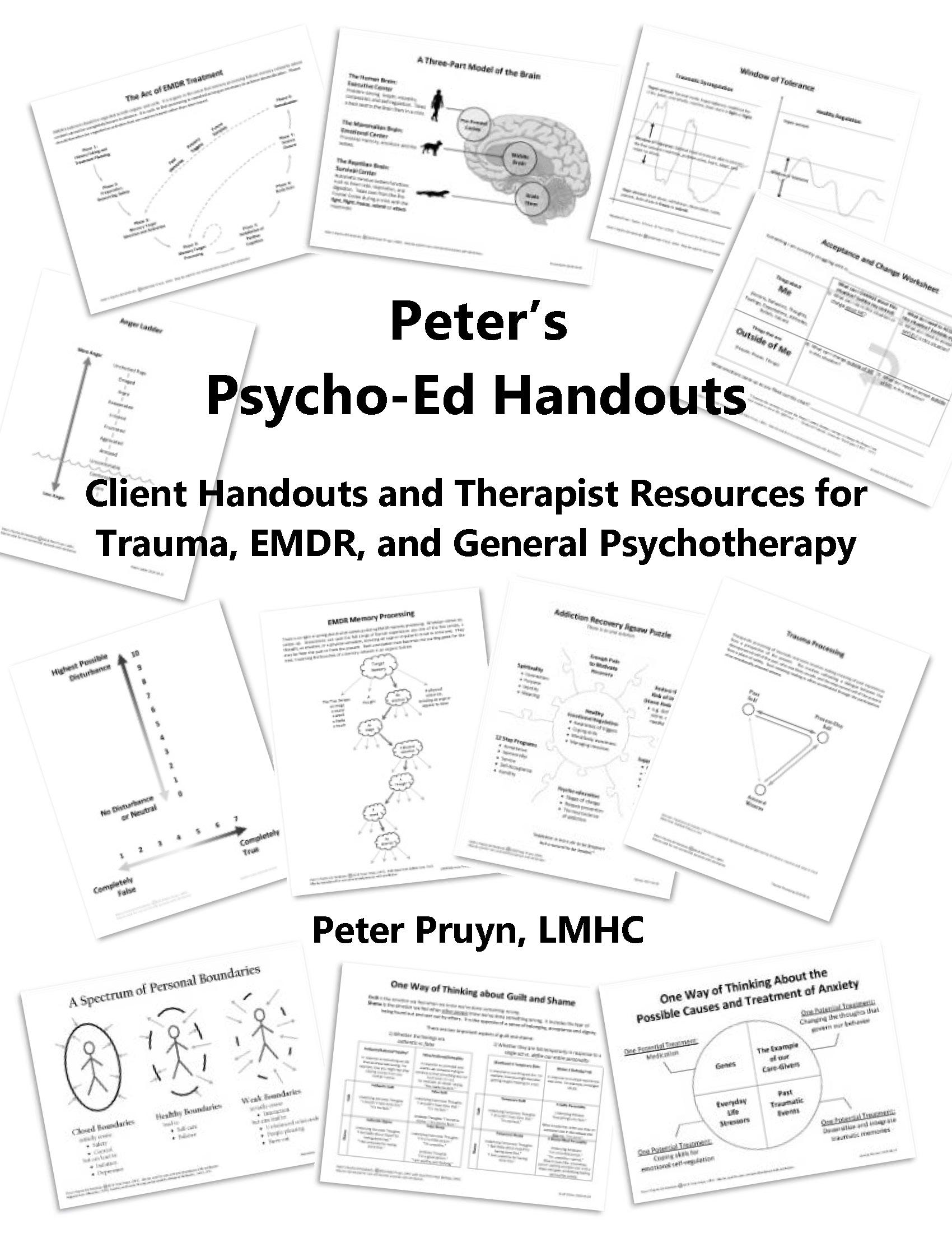 Peter's Psycho-Ed Handouts
