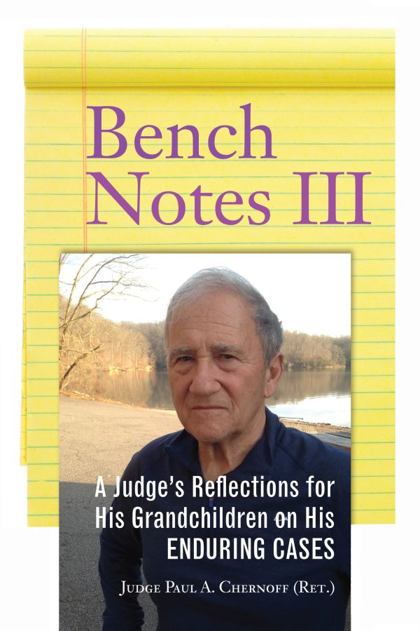 Bench Notes III