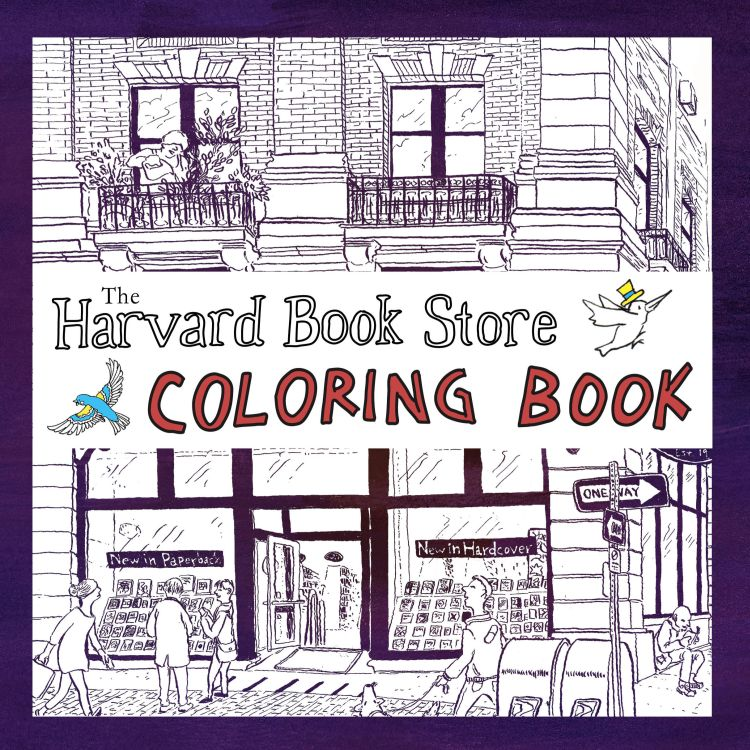 Harvard Book Store Coloring Book Harvard Book Store