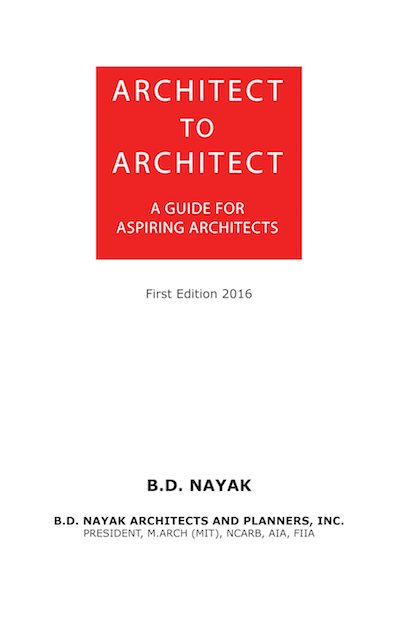 Architect to Architect