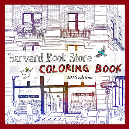 Harvard Book Store Coloring Book 2016 Edition