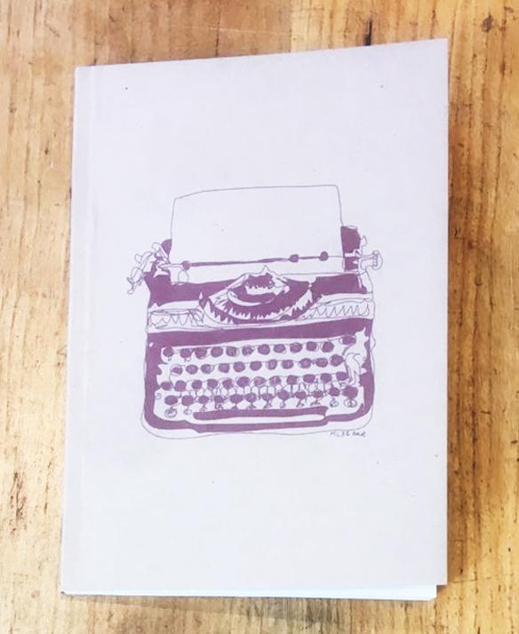 Harvard Book Store Typewriter Journal: Blank Pages