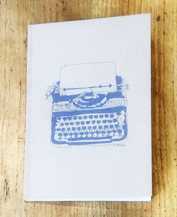 Harvard Book Store Typewriter Journal: Dot Grid Pages