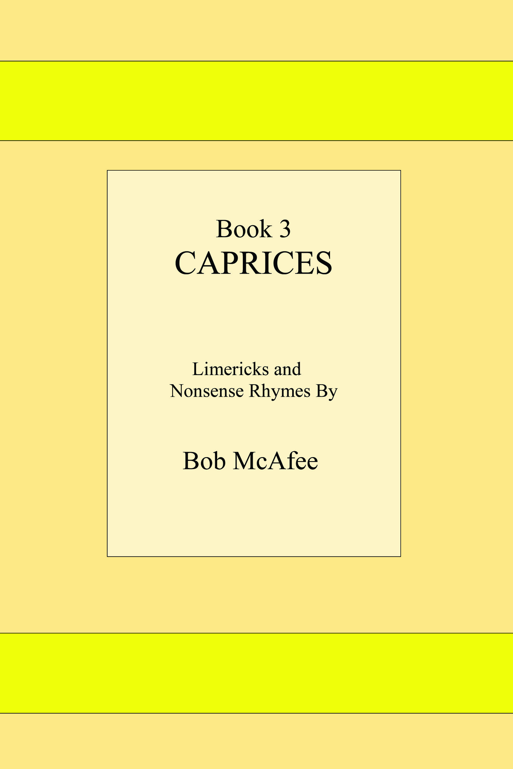 Caprices by Bob McAfee