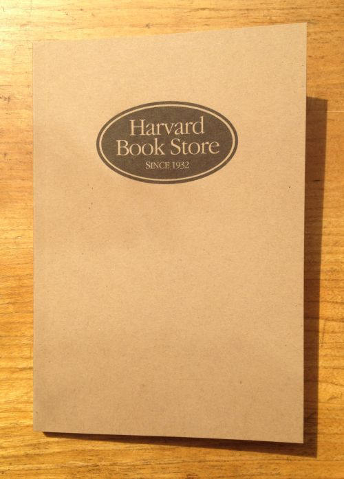 Harvard Book Store Lined Notebook