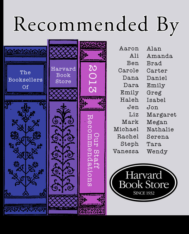 Recommended by Harvard Book Store 2013