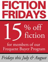 Fiction Fridays logo