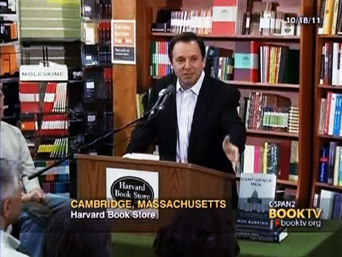 Ron Suskind at Harvard Book Store on C-SPAN's BookTV