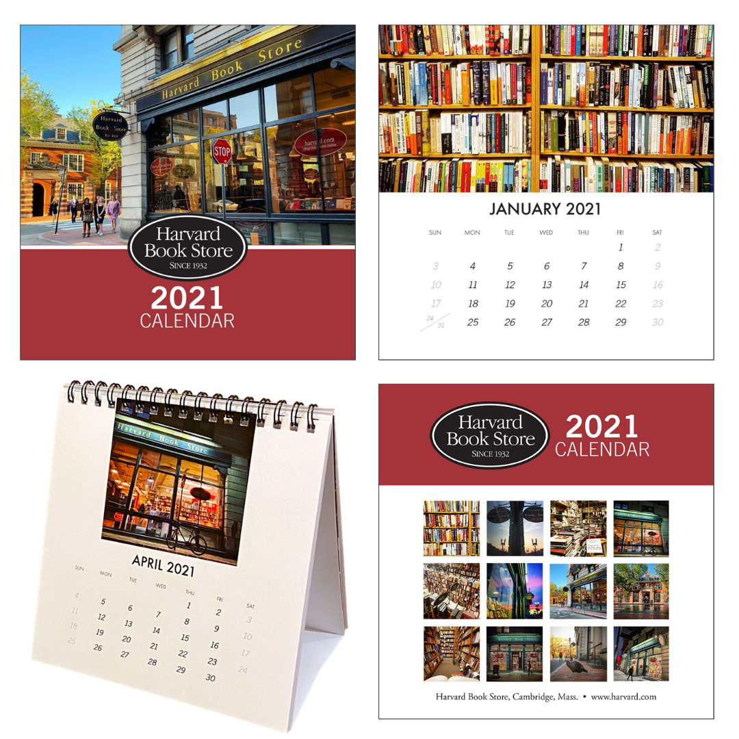 Harvard Book Store 2021 Desk Calendar