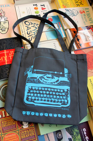 Small Canvas Bag (Typewriter Logo)