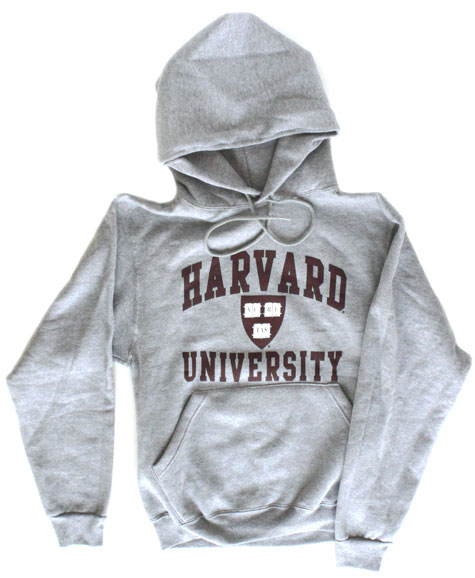 Harvard Sweatshirt (Hooded, Shield Logo)