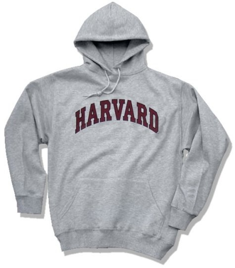 Harvard Sweatshirt (Hooded)