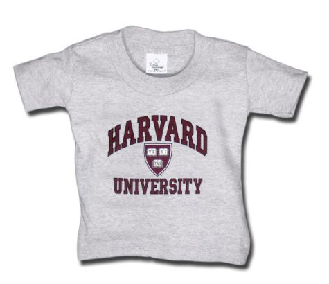 harvard children's t-shirt