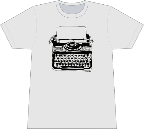 Harvard Book Store Typewriter T-Shirt