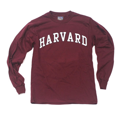 Harvard Long-Sleeve T-Shirt (Arch)